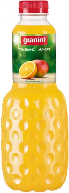 Granini Pomeranč & Mango 1l - PET