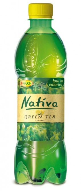 Rauch NATIVA zelený čaj s citronem 0,5l - PET