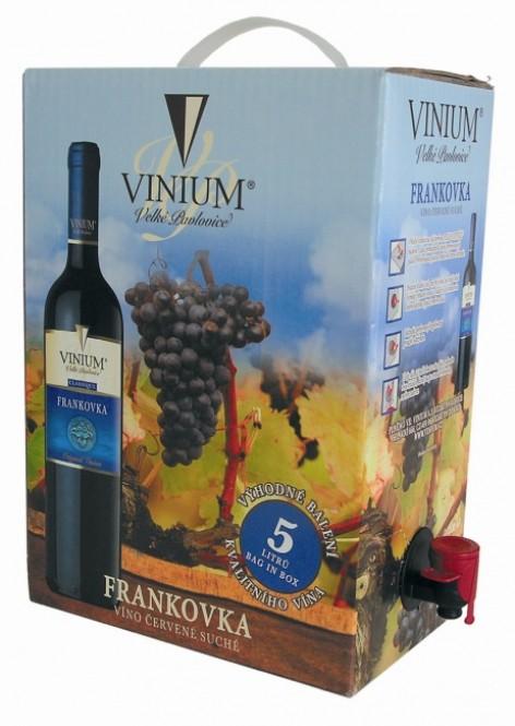 Frankovka 5l - box - Vinium Velké Pavlovice