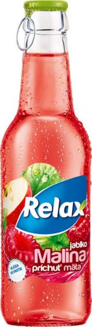 Relax Malina - máta 0,25l sklo