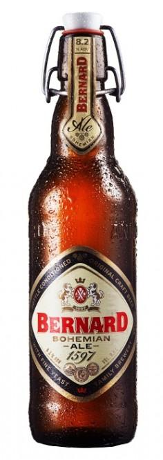 Bernard Bohemian Ale 0,5l - vratná lahev