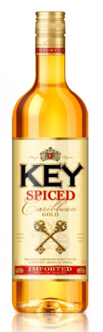 Key Spiced Gold 1l