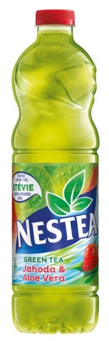 Nestea Zelený čaj jahoda & aloe 1,5l - PET