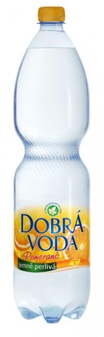 Dobrá voda Pomeranč 1,5l - PET
