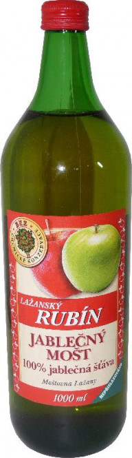Mošt jablečný 100% 1l