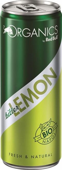 Red Bull Organics Lemon bitter 0,25l plech