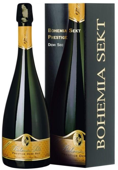 Bohemia Sekt Prestige demi sec 0,75l - box