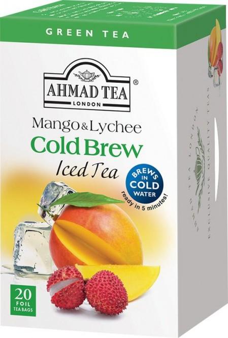 Ahmad Tea Cold Brew Green Mango & Lichee 20x2g