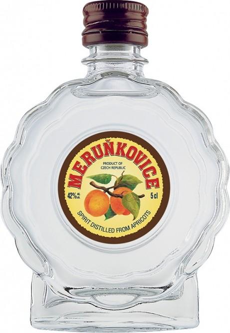 Meruňkovice Jelínek 42% 0,05l budík