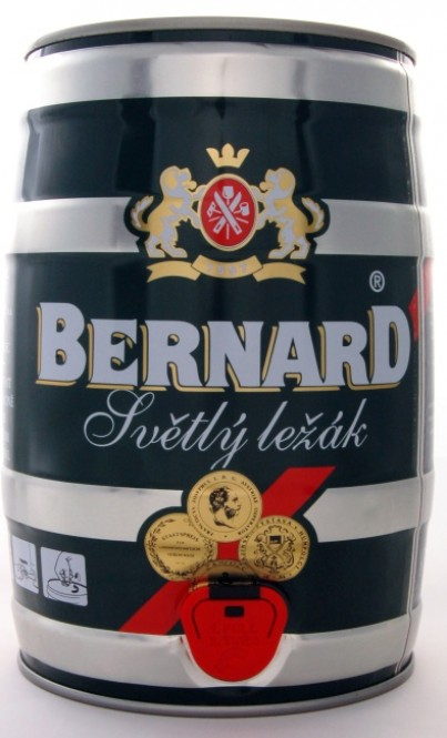 Bernard 12 světlý ležák 5l - soudek