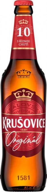 Krušovice Královská 10 - 0,5l - vratná lahev