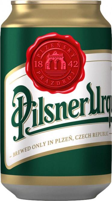 Pilsner Urquell 0,33l - plech
