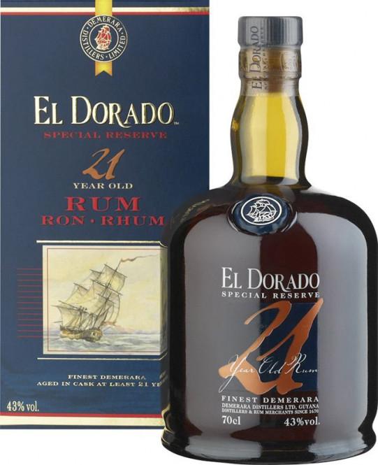 El Dorado 21 let 0,7l