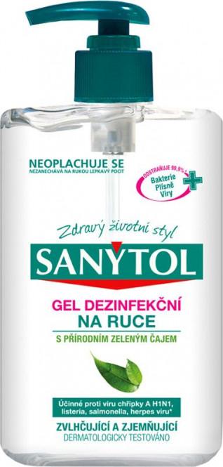 Dezinfekční gel na ruce 250ml - Sanytol