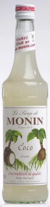 Monin Coco - kokosový sirup 0,7l