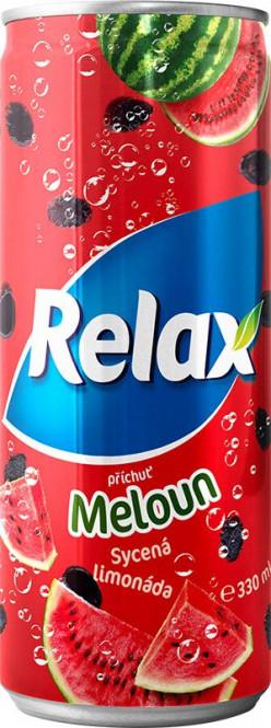 Relax Limonáda Meloun 0,33l plech