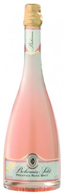 Bohemia Sekt Prestige rosé brut 0,75l