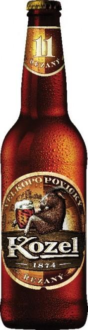 Velkopopovický Kozel řezaný 0,5l - vratná lahev