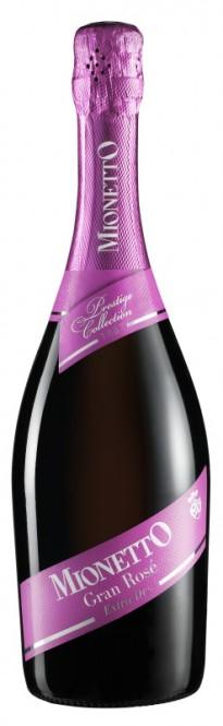 Prosecco Mionetto Gran Rosé extra dry 0,75l