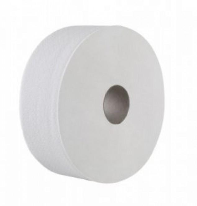 Toaletní papír Jumbo bílý 2vr. 6x190mm