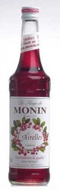 Monin Airelles - brusinkový sirup 0,7l