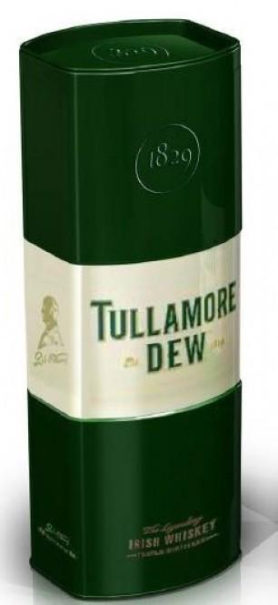 Tullamore DEW Original 0,7- plechová tuba