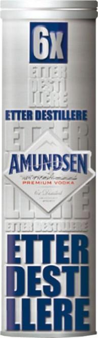 Amundsen vodka 0,5l - plechová tuba