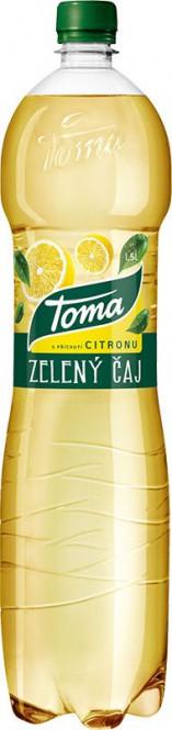 Toma čaj zelený s citronem 1,5l - PET