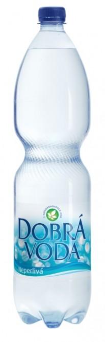 Dobrá voda neperlivá 1,5l - PET