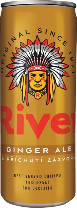 Original River Ginger Ale 0,33l - plech