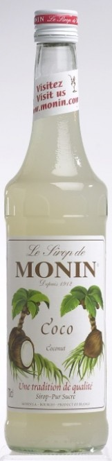 Monin Coco - kokosový sirup 1l
