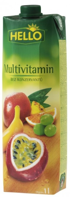 Hello multivitamin 1l