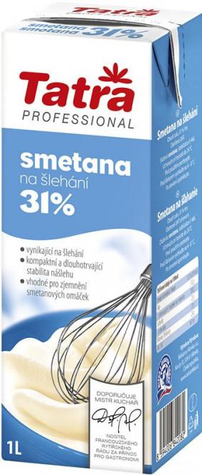 Smetana na šlehání 31% Tatra 1l