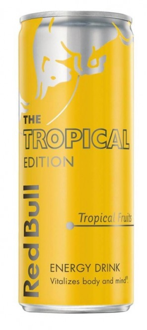 Red Bull Edition Tropical 0,25l plech