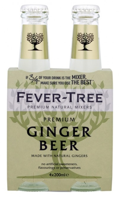 Fever-Tree Ginger Beer 0.2l (4 ks)