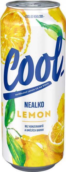 Staropramen cool nealko lemon 0,5l - plech