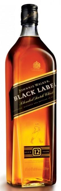 Johnnie Walker Black label 12 let 1l