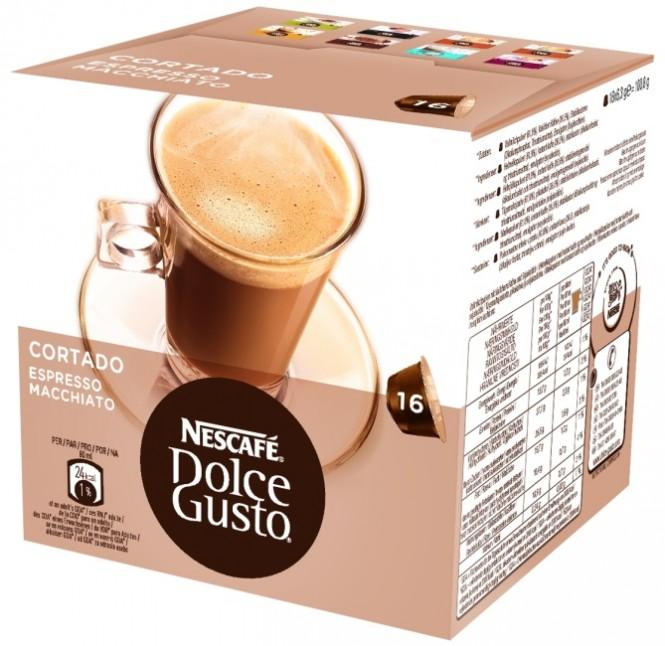 NESCAFÉ Dolce Gusto Cortado espresso 100,8g