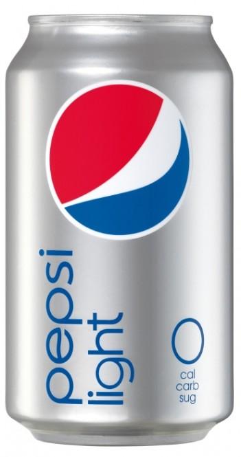 Pepsi light 0,33l - plech (24 ks)