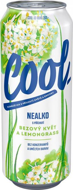Staropramen cool nealko Bezový květ a Lemongrass 0,5l - plech