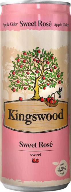 Kingswood apple cider rosé 0,33l plech