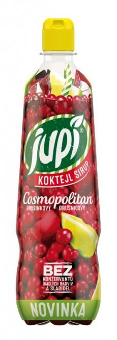 Ovocný sirup JUPÍ koktejl Brusinkový Cosmopolitan 0,7l - PET