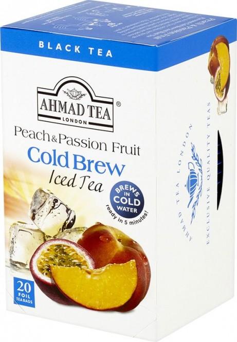 Ahmad Tea Cold Brew Peach & Passion Fruit 20x2g