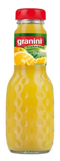 Granini Pomeranč 0,2l sklo - vratná lahev