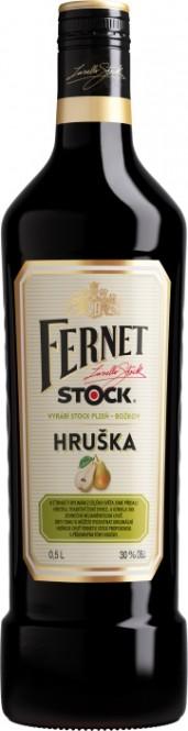 Fernet Stock s hruškou 0,5l