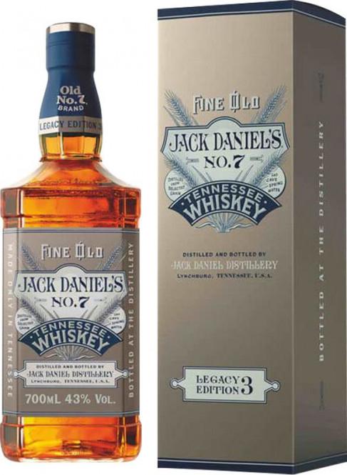 Jack Daniel's Legacy Edition 3 0,7l