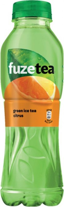 Fuze Tea Green Ice Tea Citrus zero 0,5l - PET