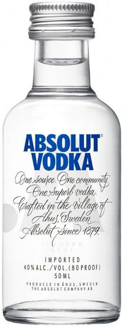 Absolut vodka 0,05l