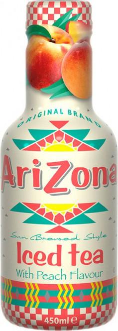 AriZona Ice tea Peach 0,45l - PET