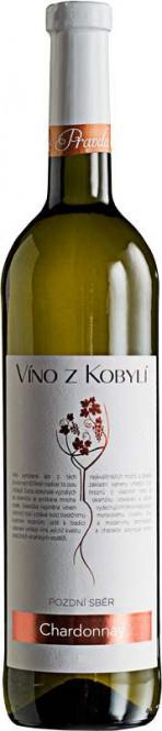 Chardonnay 0,75l pozdní sběr - Patria Kobylí